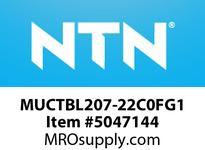 NTN MUCTBL207-22C0FG1 BEARING UNITS MOUNTED UNIT - PLASTIC