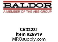 BALDOR CB3228T CONV. BASE 324U/326U TO 284T/286T