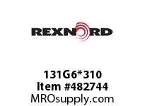 REXNORD 6180174 131G6*310 CST G6 EV6 P/C R&L