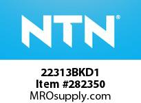 NTN 22313BKD1 SPHERICAL ROLLER BRG