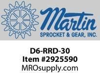 D6-RRD-30 CEMA D 6^ Diameter Rubber Disc Return