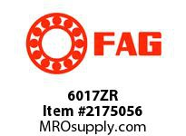 FAG 6017ZR RADIAL DEEP GROOVE BALL BEARINGS