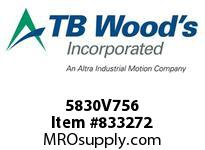 TBWOODS 5830V756 5830V756 VAR SP BELT