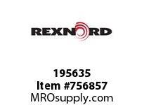 REXNORD 195635 73070110802RP 70 HCB 3.3725 BORE W/RPH