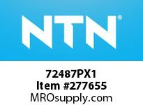 NTN 72487PX1 MEDIUM SIZE TAPERED ROLLER BRG
