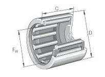 INA BK2216 Drawn cup needle bearing