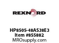 REXNORD HP8505-48AS38E3 HP8505-48 3AS-T38P HP8505 48 INCH WIDE MATTOP CHAIN WI
