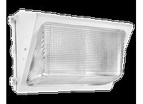 RAB WP2H150QTW WALLPACK 150W MH QT HPF GLASS LENS + LAMP WHITE