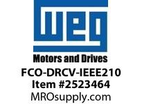 WEG FCO-DRCV-IEEE210 CI FAN COVER & DRIP COVER 210 Motores