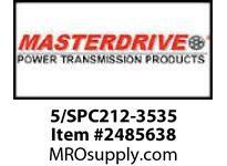 MasterDrive 5/SPC212-3535 5 GROOVE SPC SHEAVE