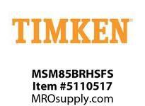 TIMKEN MSM85BRHSFS Split CRB Housed Unit Assembly