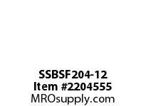 PTI SSBSF204-12 SS 4-BOLT FLANGE BEARING-3/4