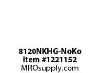 WireGuard 8120NKHG-NoKo 8x8x120 NEMA TYPE-1 GUTTER