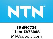 NTN TKBN0734 MACHINED RING NRB(RACE)