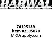 Harwal 7610513A 76 x 105 x 13A NBR