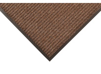 NoTrax 117S0036BR 117 Heritage Rib 3X6 Brown Heritage Rib offers a heavier-weight double rib high/low design that performs the scraping function of the mat. This medium to heavy traffic entrance mat is intended for areas that need extra moi