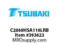 US Tsubaki C2060HSA110LRB C2060H RIV 10L/SA-1