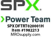 SPX DFTRT020001H TWL/LDF2 Ratchet (Head 1)-1.7/16