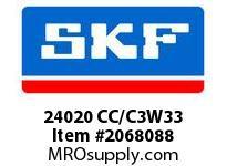 SKF-Bearing 24020 CC/C3W33