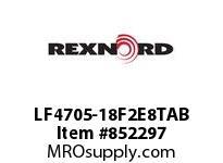 REXNORD LF4705-18F2E8TAB LF4705T-18 F2 T8P TAB