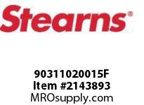STEARNS 90311020015F TAPER BUSHING 1-1/8 BORE 8023032