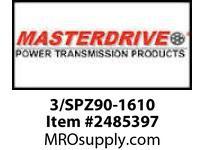 MasterDrive 3/SPZ90-1610 3 GROOVE SPZ SHEAVE