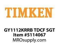 TIMKEN GY1112KRRB TDCF SGT WIR Set Screw, Plated