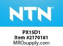 NTN PX15D1 Cast Housing