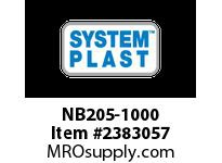 System Plast NB205-1000 NB205-1000 SP CUSTOMIZED PRODUCTS