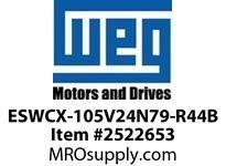 WEG ESWCX-105V24N79-R44B XP FVNR 75HP/460 N79 230V Panels