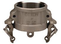 """DIXON RH075BL 3/4"""" SS CAP W/CPLR BOSS-LOCK"""