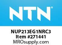 NTN NUP213EG1NRC3 CYLINDRICAL ROLLER BRG