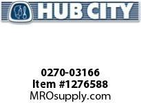 HubCity 0270-03166 ARM2C-2.913-56C-140TC