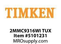 TIMKEN 2MMC9316WI TUX Ball P4S Super Precision