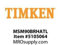 TIMKEN MSM90BRHATL Split CRB Housed Unit Assembly