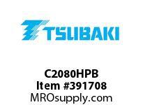 US Tsubaki C2080HPB C2080 HOLLOW PIN LG