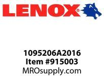 Lenox 1095206A2016 BI-METAL UTILITY BITS-06A2016 6 X 1-1/4 UTILITY BIT-06A2016 152 X 32MM UTILITY BIT- BITS-06A2016 6 X 1-1/4 UTILITY BIT-06A2016 152 X 32MM UTILITY BIT-