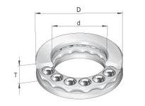 INA GT24 Thrust ball bearing