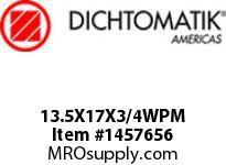 Dichtomatik 13.5X17X3/4WPM WIPER