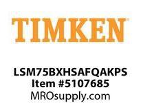 TIMKEN LSM75BXHSAFQAKPS Split CRB Housed Unit Assembly