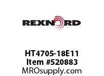 REXNORD HT4705-18E11 HT4705-18 E11-1/4D STAG 152334