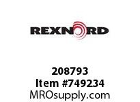 REXNORD 208793 589444 312.S71-8.CPLG TPR SD L