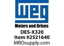 WEG DES-X320 DE ENDSHIELD XP FR 320T Integrals