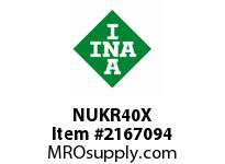 INA NUKR40X Stud type track roller
