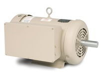 DEL3737TM 10HP, 1760RPM, 1PH, 60HZ, 215T, 3750LC, TEFC, F