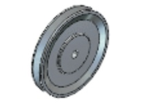 Maska Pulley 8400X25MM VARIABLE PITCH SHEAVE GROVES: 1 8400X25MM