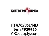REXNORD HT470536E14D HT4705-36 E14-3/16D SP 152836