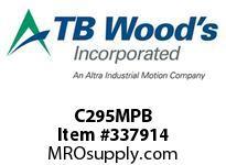 TBWOODS C295MPB C295X1 1/2 MPB C JAW HUB