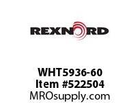 REXNORD WHT5936-60 WHT5936-60 134797