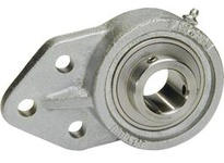 IPTCI Bearing SUCNPFB205-16 BORE DIAMETER: 1 INCH HOUSING: 3 BOLT FLANGE BRACKET HOUSING MATERIAL: NICKEL PLATED